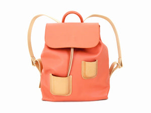 Pocket Backpack Coral