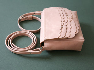 While Mini shoulder bag Powder Pink