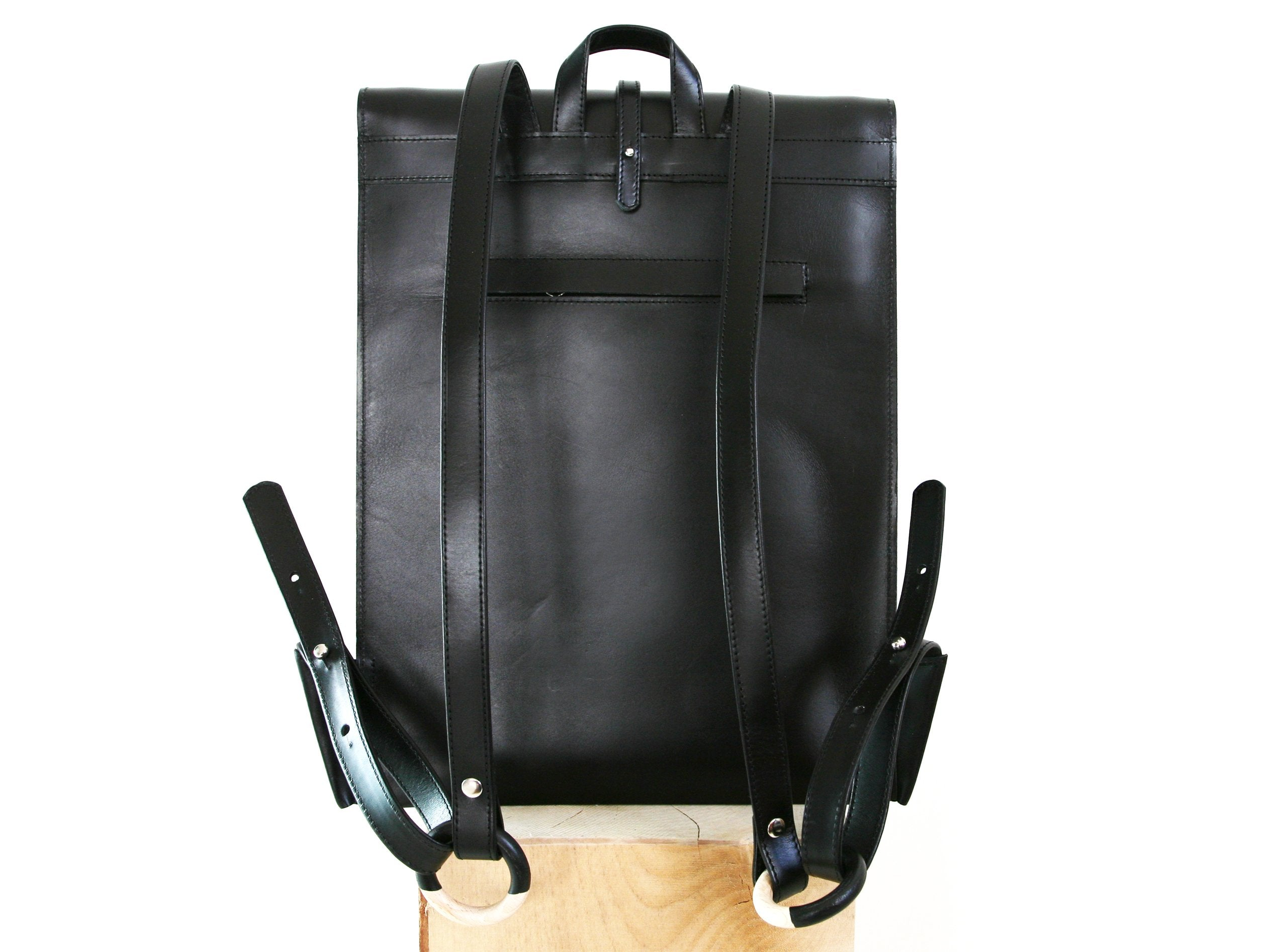 Paper Backpack Black