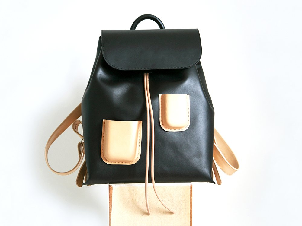 Pocket Backpack Black