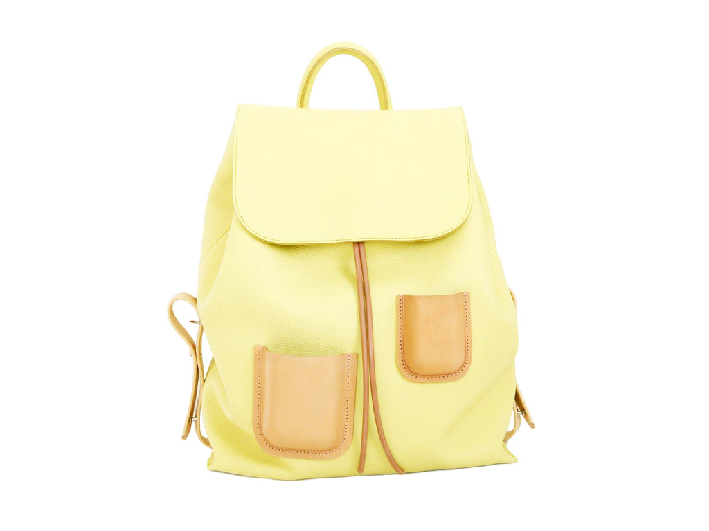 Pocket Backpack Lemon