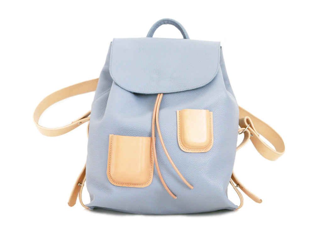 Pocket Backpack Lavender Blue