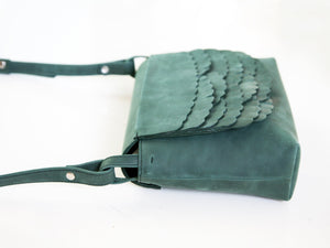 While shoulder bag Pine