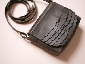 While Mini shoulder bag Dark Brown