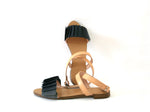 Rainbow Sandal Black