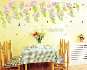 Wisteria Flower removable WallSticker