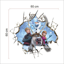 Load image into Gallery viewer, Disney Frozen Smashed Wall Removable Wallsticker