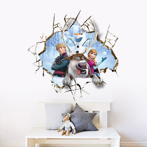 Disney Frozen Smashed Wall Removable Wallsticker