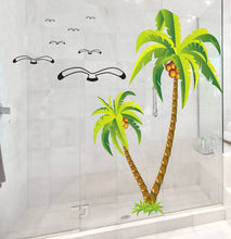 Load image into Gallery viewer, Coconut Tree removable WallSticker