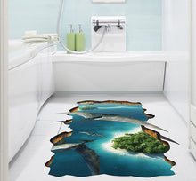 Load image into Gallery viewer, 3D Flying Dragon Removable Wallsticker / Floorsticker