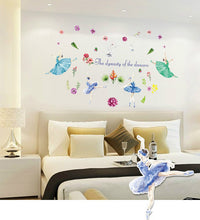 Load image into Gallery viewer, Ballet Girl removable WallSticker