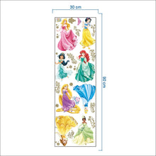 Load image into Gallery viewer, Disney Princess Removable Wallsticker