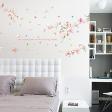 Load image into Gallery viewer, Pink Magnolia removable WallSticker