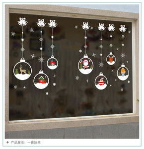 Christmas Crystal Ball Removable Wallsticker