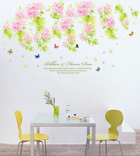 Load image into Gallery viewer, Wisteria Flower removable WallSticker