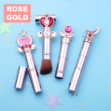 Load image into Gallery viewer, Sailor Moon Make Up Brush (2 colors)