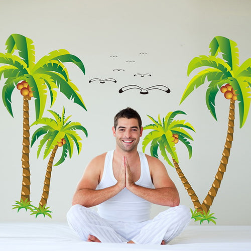 Coconut Tree removable WallSticker