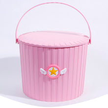 Load image into Gallery viewer, Sakura Cardcaptor Plastic Storage Bucket