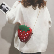 Load image into Gallery viewer, Strawberry Chain Bag