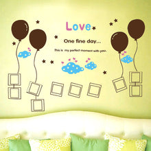 Load image into Gallery viewer, Balloon Photo Frame Removable WallSticker