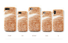Load image into Gallery viewer, Catty Plush Iphone Case
