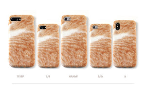 Catty Plush Iphone Case