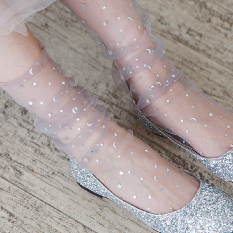 Shinning Stars Transparent stockings (5 colors)