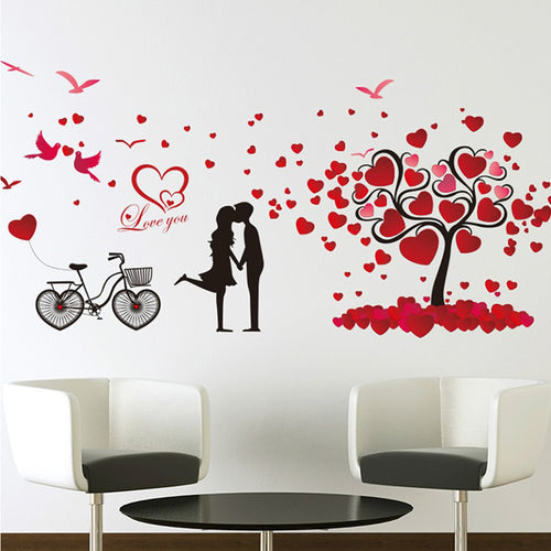 Valentine's World removable WallSticker