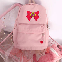 Load image into Gallery viewer, Sailormoon Ribbon Backpack ( 2 colors )