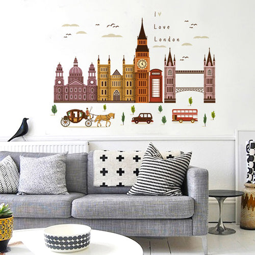London Building Wall removable WallSticker