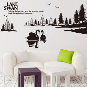 Swan Lake Removable Wallsticker