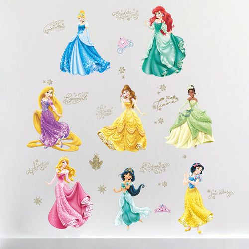 Disney Princess Removable Wallsticker