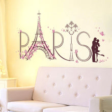 Load image into Gallery viewer, Paris Lover removable WallSticker