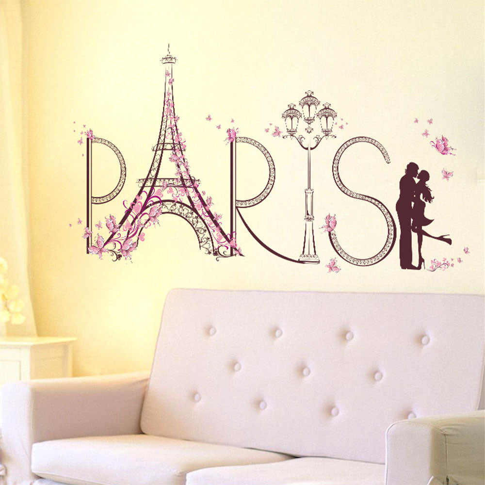Paris Lover removable WallSticker