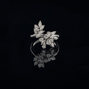 Wreath Diamond Ring