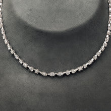 Load image into Gallery viewer, Single line Diamond Necklace