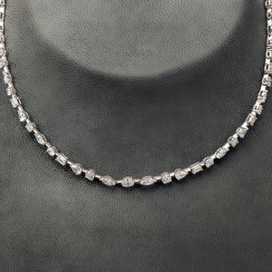 Single line Diamond Necklace