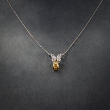 Load image into Gallery viewer, Fancy Yellow Diamond Pendant