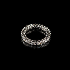 Carré Cut Eternity Ring