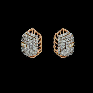 Veil Diamond Earrings