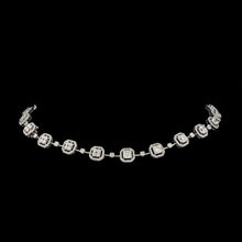 Load image into Gallery viewer, Rivière Radiant & Round Diamond Necklace
