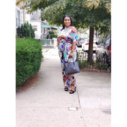 Try Keeping Up Print Jumpsuit - LeAmore Boutique