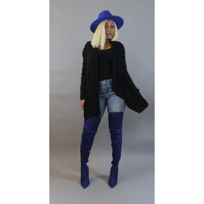 Black Sweater - LeAmore Boutique