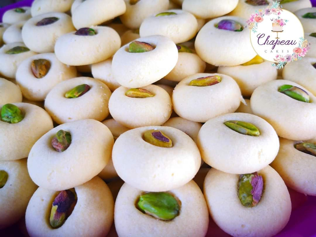 Petite Ghorayeba Cookies | Portion for 2 | Free UK Delivery