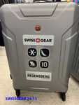 "Swiss Gear 24"" Check-in spinner hard case and soft case"