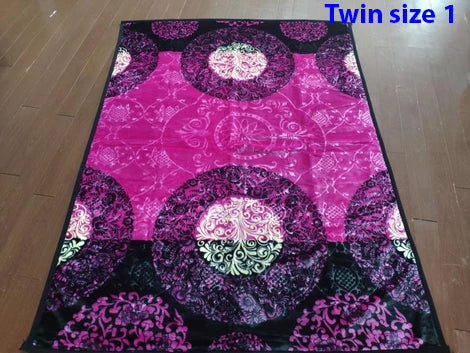 Twin size Imperiall Blankets 2 ply 3.8 kg Machine Washable Very soft $39.82+tax = $45