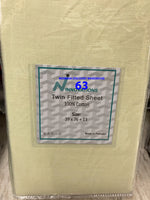 Twin fitted sheets alone 100% cotton made in Pakistan $10.61+tax=$12
