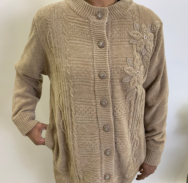 Chenille Sweaters fully lined, washable Nulook Brand. $55 tax included