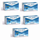 Disposable Masks 3 layers, pack of 50, $13.27+tax = $15. One pack $15, 5 packs $65, $10 packs $100 and 40 packs $295. Tax included