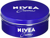 NIVEA All Purpose Original Moisturizing Crème, 400mL classic tin (pack of 4 tins) Made in Germany